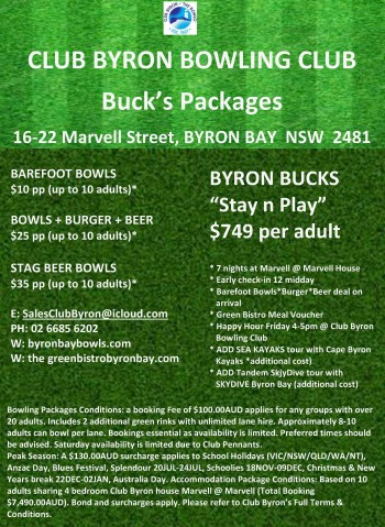 Bucks Packages 20 05 2017