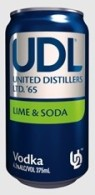 UDL line and soda
